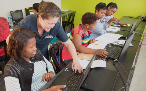 Tigers backs programme developing IT skills in South African townships